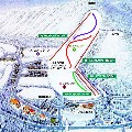 富士見高原スキー場のイメージマップ