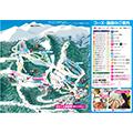 Mt.乗鞍スノーリゾート のりくらエリアのイメージマップ