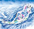 やぶはら高原スキー場のイメージマップ