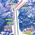 治部坂高原スキー場のイメージマップ