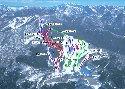 鷲ヶ岳スキー場のイメージマップ