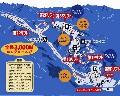 しらおスキー場のイメージマップ
