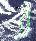 郡上ヴァカンス村スキー場のイメージマップ