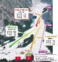 白川郷平瀬温泉白弓スキー場のイメージマップ