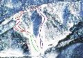 平湯温泉スキー場のイメージマップ