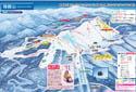 箱館山スキー場のイメージマップ