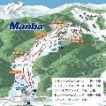 神鍋高原万場スキー場のイメージマップ