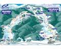 神鍋高原 奥神鍋スキー場のイメージマップ