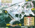 スカイバレイスキー場のイメージマップ