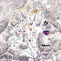 ミカタスノーパークのイメージマップ