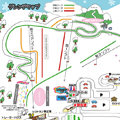 若杉高原おおやスキー場のイメージマップ