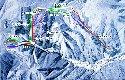瑞穂ハイランドスキー場のイメージマップ