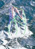 八幡高原191スキー場のイメージマップ