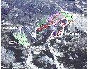 芸北国際スキー場のイメージマップ