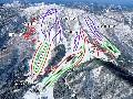 恐羅漢スノーパークのイメージマップ