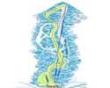 女鹿平温泉めがひらスキー場のイメージマップ