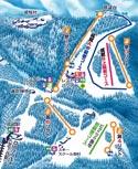 石鎚スキー場のイメージマップ