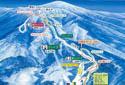 阿仁スキー場のイメージマップ
