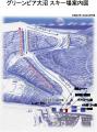 グリーンピア大沼スキー場のイメージマップ