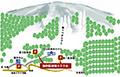 中山峠スキー場のイメージマップ