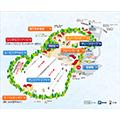 六甲山スノーパークのイメージマップ