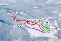 まかど温泉スキー場のイメージマップ