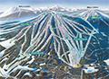安比高原スキー場のイメージマップ
