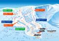 網張温泉スキー場のイメージマップ