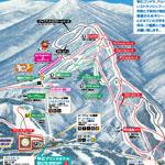 雫石スキー場のイメージマップ
