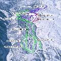 みやぎ蔵王スキー場すみかわスノーパークのイメージマップ