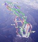 みやぎ蔵王えぼしリゾートのイメージマップ