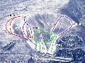 みやぎ蔵王白石スキー場のイメージマップ