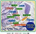 みやぎ蔵王七ヶ宿スキー場のイメージマップ
