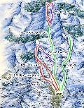 太平山スキー場オーパスのイメージマップ