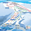 大仙市営 協和スキー場のイメージマップ