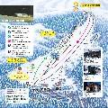 大仙市大台スキー場のイメージマップ