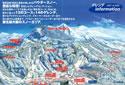 山形蔵王温泉スキー場のイメージマップ