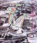 湯殿山スキー場のイメージマップ