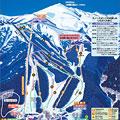あだたら高原スキー場のイメージマップ