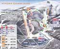 箕輪スキー場のイメージマップ