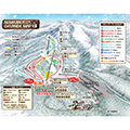 沼尻スキー場のイメージマップ