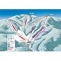 星野リゾート 猫魔スキー場のイメージマップ