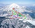 猪苗代リゾートスキー場のイメージマップ