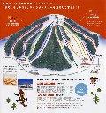 かもい岳スキー場のイメージマップ