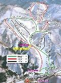 会津高原高畑スキー場のイメージマップ