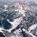 会津高原南郷スキー場のイメージマップ