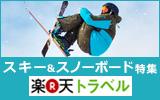 楽天とラベル【2015-2016】スキー、スノーボード特集