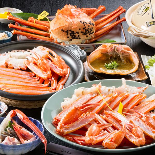 「地元のカニが食べたい!」香住港タグ付き活紅ズワイガニ★フルコース2.5匹【地魚舟盛付】