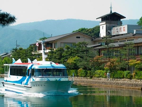日本三景 天橋立 文珠荘