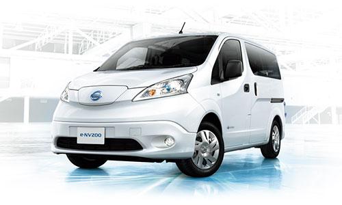 日産の電気自動車を配備